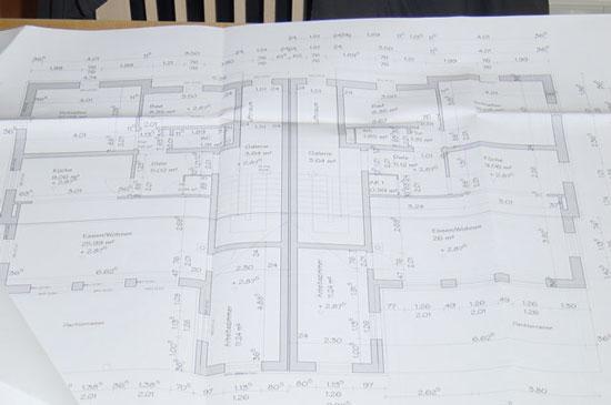 baupl ne f r ein doppelhaus. Black Bedroom Furniture Sets. Home Design Ideas